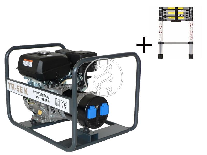 TR 5E K Kohler benzinmotoros áramfejlesztő