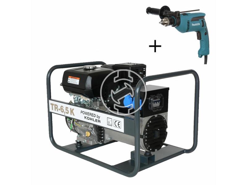 TR 6,5 K Kohler benzinmotoros áramfejlesztő