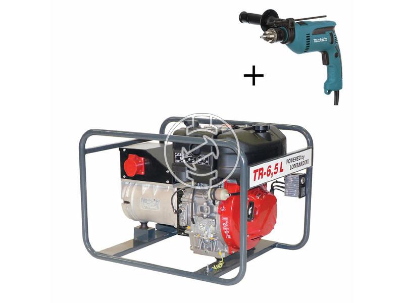TR 6,5 L Lombardini dízelmotoros áramfejlesztő