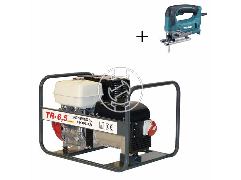 TR 6.5 avr Honda motoros áramfejlesztő feszültség szabályzóval