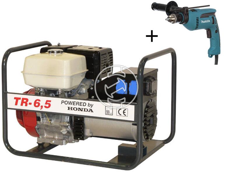 TR 6.5 Honda négyütemü benzinmotoros áramfejlesztő