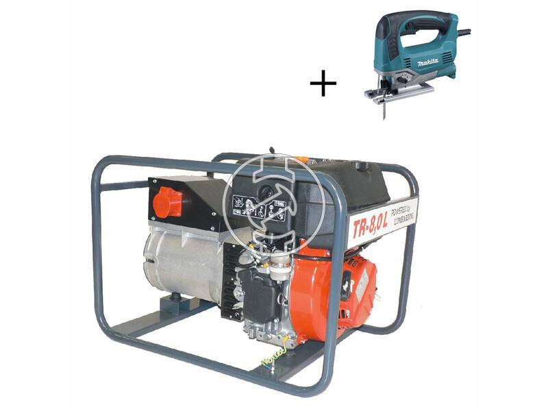 TR 8,0 L Lombardini dízelmotoros áramfejlesztő
