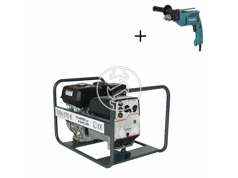 TR H-170 K Kohler benzinmotoros hegesztő-áramfejlesztő