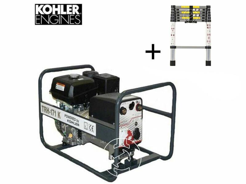 TR H-171 K Kohler benzinmotoros hegesztő-áramfejlesztő