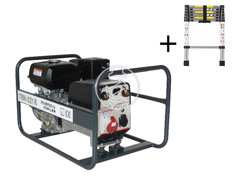 TR H-221 K Kohler benzinmotoros hegesztő-áramfejlesztő