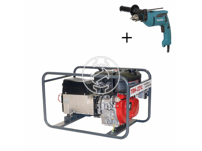 TR H-221 L Lombardini dízelmotoros hegesztő-áramfejlesztő
