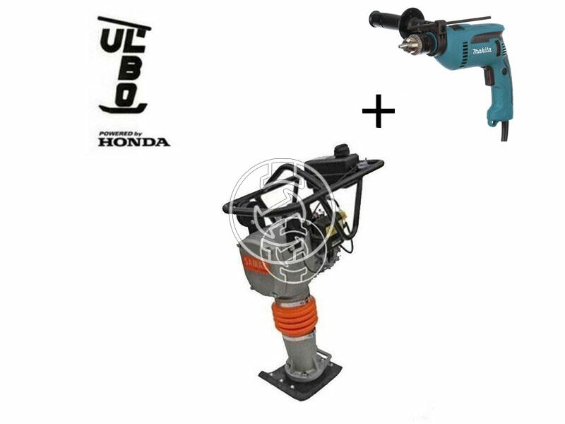 Ulbo UBZ 58 E döngölőgép Honda GXR-120 motorral