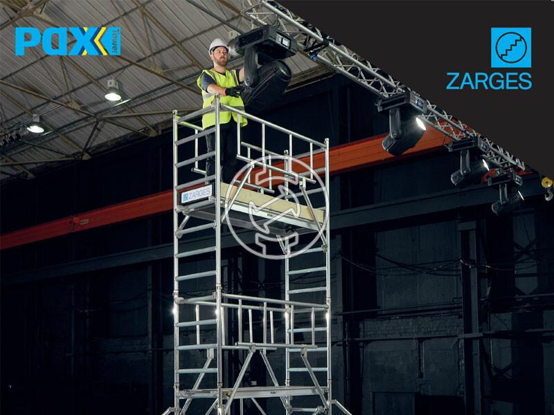 Zarges PaxTower 1T gurulóállvány 1-es csomag